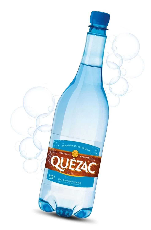 Bouteille eau de Quézac