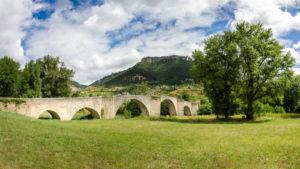 Le Pont de Quézac - Source de l'eau pétillante naturelle